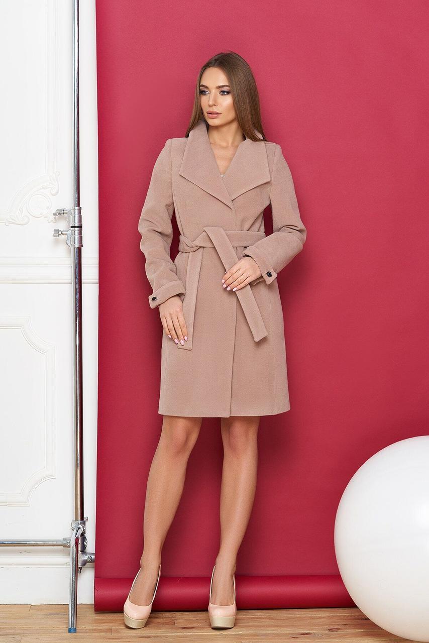Кашемировое пальто женское демисезонное, XS(42)