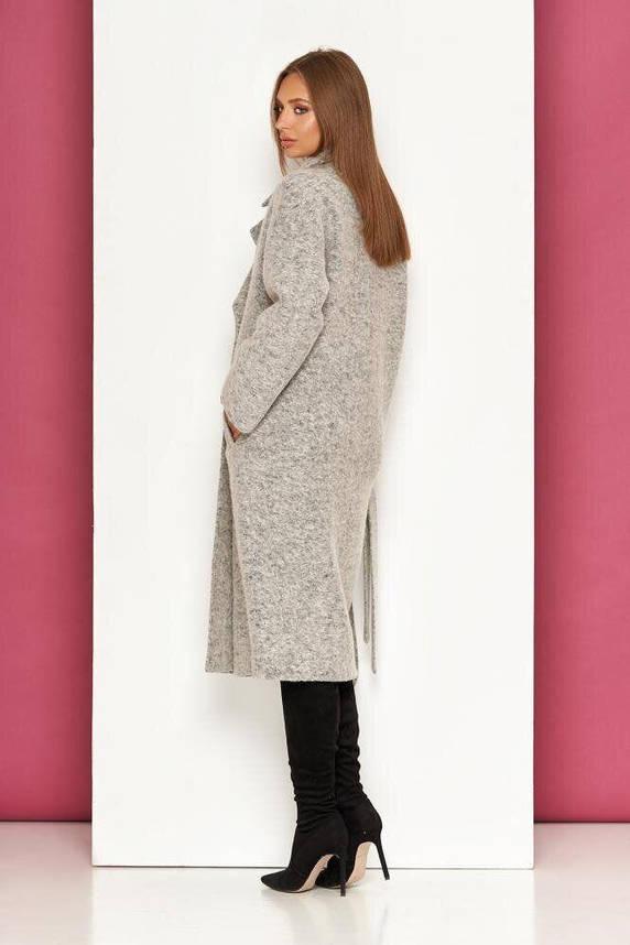 Женское осеннее пальто-оверсайз из валяной шерсти, XS(42), фото 2