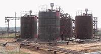 Строительство сооружений нефтебаз