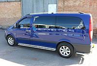 "Рейлінги Mercedes Vito 639 с. б. ""Хром"""