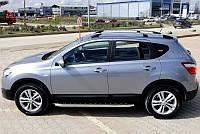 """Рейлинги Nissan Qashqai 2007-2014 """"Хром"""""""