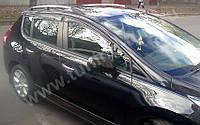 """Рейлинги Peugeot 3008 """"Хром"""""""