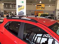 Поперечины на рейлинги Audi Q7 (с замком)