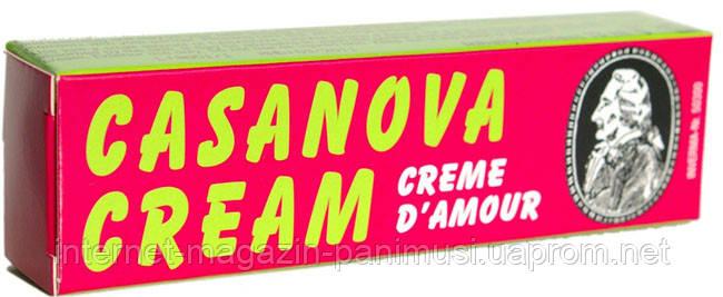 Мужской Стимулирующий крем Casanova Cream 13мл. Супер Мощная Эрекция Inverma Германия