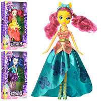 Кукла My Little Pony Equestria Girls DH2141 LP, 25см, аксессуары, 3 вида, в кор-ке, 29-17-5см
