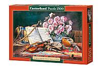 """Пазлы Castorland """"Натюрморт для музыканта"""" - 1500 элементов."""
