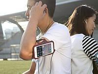 Спортивный чехол на руку ROCK Smart Sport Armband orig для iPhone 6/6S gray/red