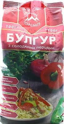 Булгур  с сладким перцем ТМ Олимп 700 грамм