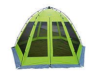 Тент-шатер автоматическая Norfin Lund NF летняя Палатка туристическая для отдыха и рыбалки (Палатки летние)