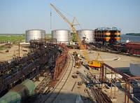 Строительство и реконструкции объектов хранения нефти