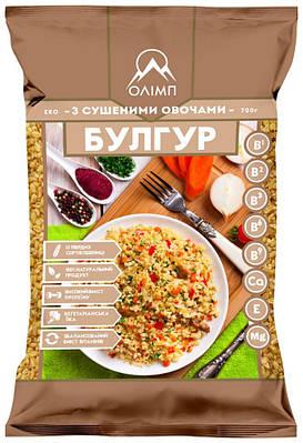 Булгур  с сушёными овощами ТМ Олимп 700 грамм