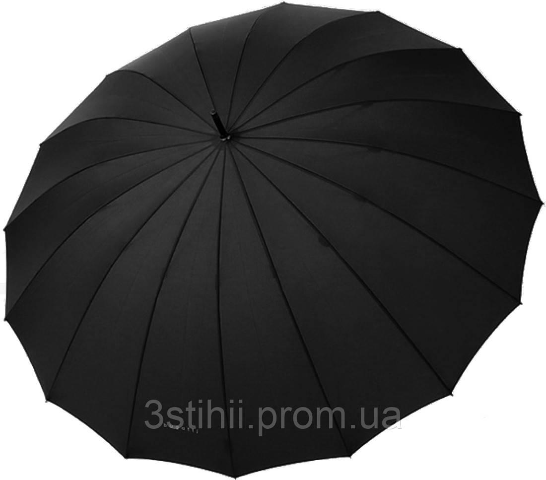 Зонт-трость Bugatti 71763BU001 механический Черный
