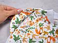 Безрозмірна пелюшка на блискавці з шапочкою Каспер, Лисички, фото 6