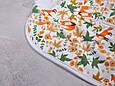 Безразмерная пеленка на молнии с шапочкой Каспер, Лисички, фото 3