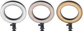 Настольная кольцевая лампа MP-353 OLY на подставке