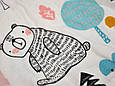 "Безразмерная пеленка на липучках с шапочкой ""Каспер"", Кто в лесу, фото 2"