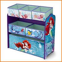 """Органайзер - ящик для игрушек """"Русалочка Ариэль Disney"""" Delta Children"""