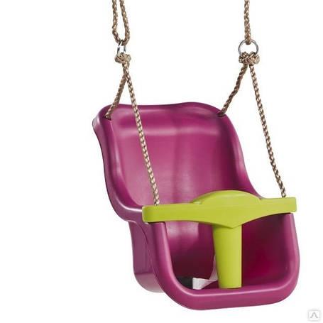 Качели для детей с защитой Kbt Luxe фиолетовые, фото 2