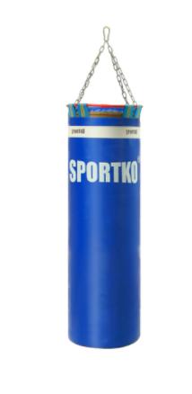 Боксерский мешок Sportko Классик с кольцом и цепью арт. МП-4 (вес 20 кг. Размер 85х29 см.)