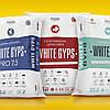 СТАРТОВА ШТУКАТУРКА WHITE GYPS 25 кг +/–0,3  Суха штукатурна суміш на основі гіпсового в'язучого з добавкою