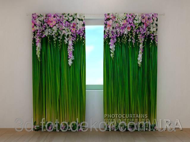 """Фото для образцов было взято из Фото шторы """"Ламбрекен из цветов"""" """"."""