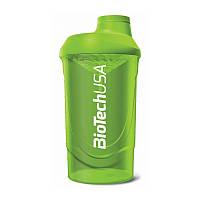 Шейкер BioTech Shaker Wave 600 ml Grass Green Зелёный