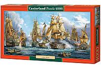 """Пазлы Castorland """"Морская битва"""" - 4000 элементов."""