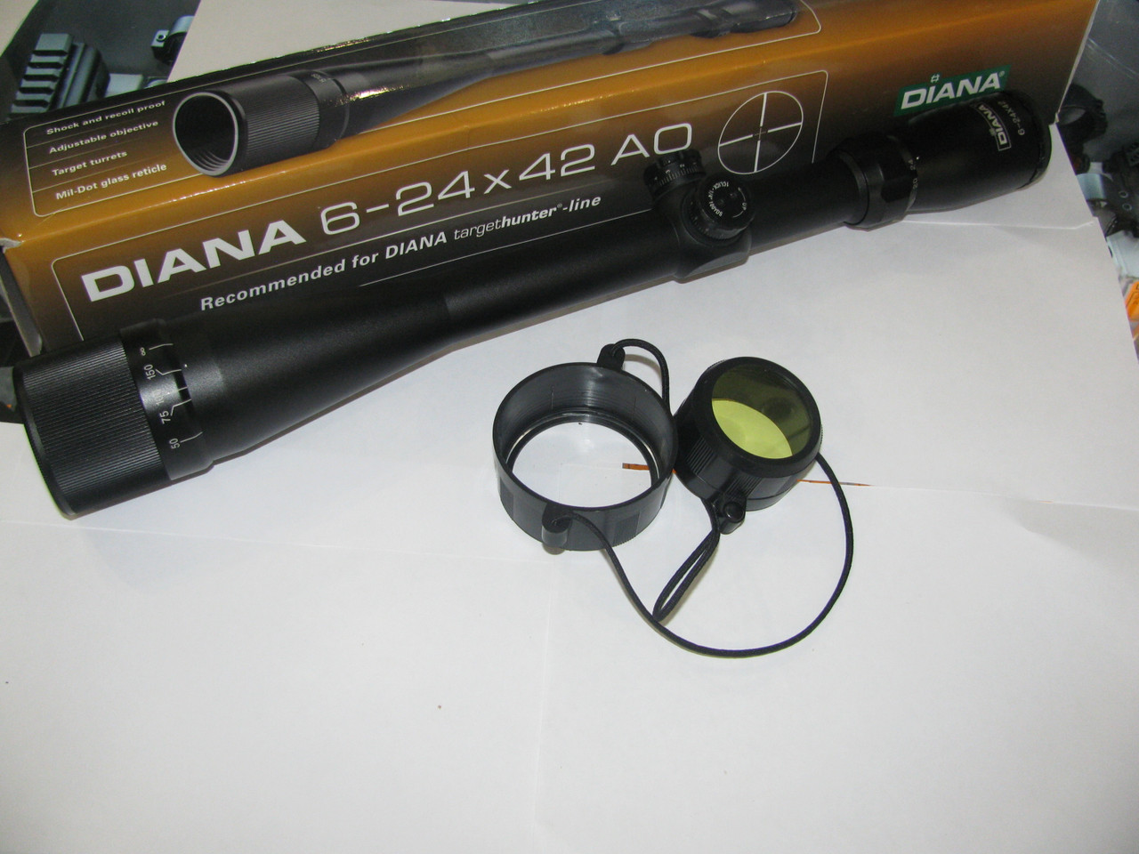 Оптический прицел  Diana 6-24X42 сетка Милдот