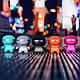 Портативная колонка Xoopar Xboy glow LED черная 12 см, фото 8