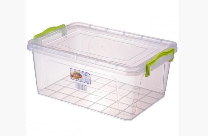 Пищевой контейнер плоский Lux  9,5 литров