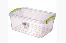 Харчової контейнер плоский Lux 9,5 літрів