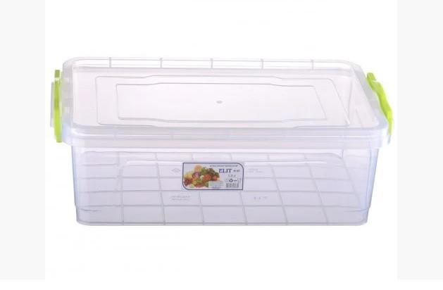 Пищевой контейнер плоский Elit 7 литров