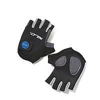 Перчатки XLC CG-S05 Columbia, черно-серые, L