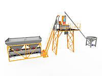 Стационарный бетонный завод 4BUILD SKIP-15