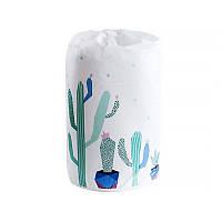 Мешок для хранения одеял Lesko Blanket bag PEVA DR-230 Кактус 83*40см