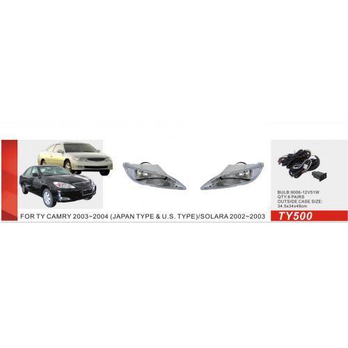 Фары доп.модель Toyota Camry 30 2002-04/TY-500W/JAPAN/эл.проводка (TY-500W)