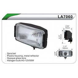Фара дополнительная  DLAA 7060-BL/H3-12V-55W/182*86mm (LA 7060-BL)