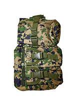 Сумка, рюкзак на одно плечо Спартак N02210 Pixel Green, прочная