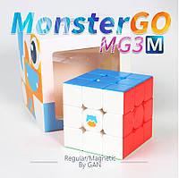 Кубик Рубика 3х3 GAN Monster Go MG356 3x3 Magnetic stickerless