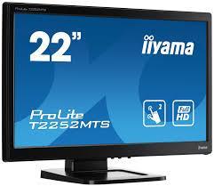 "Монитор 22"" iiyama ProLite T2252MTS-B3 Multitouch 1920 x 1080-TN+film- Б/У"
