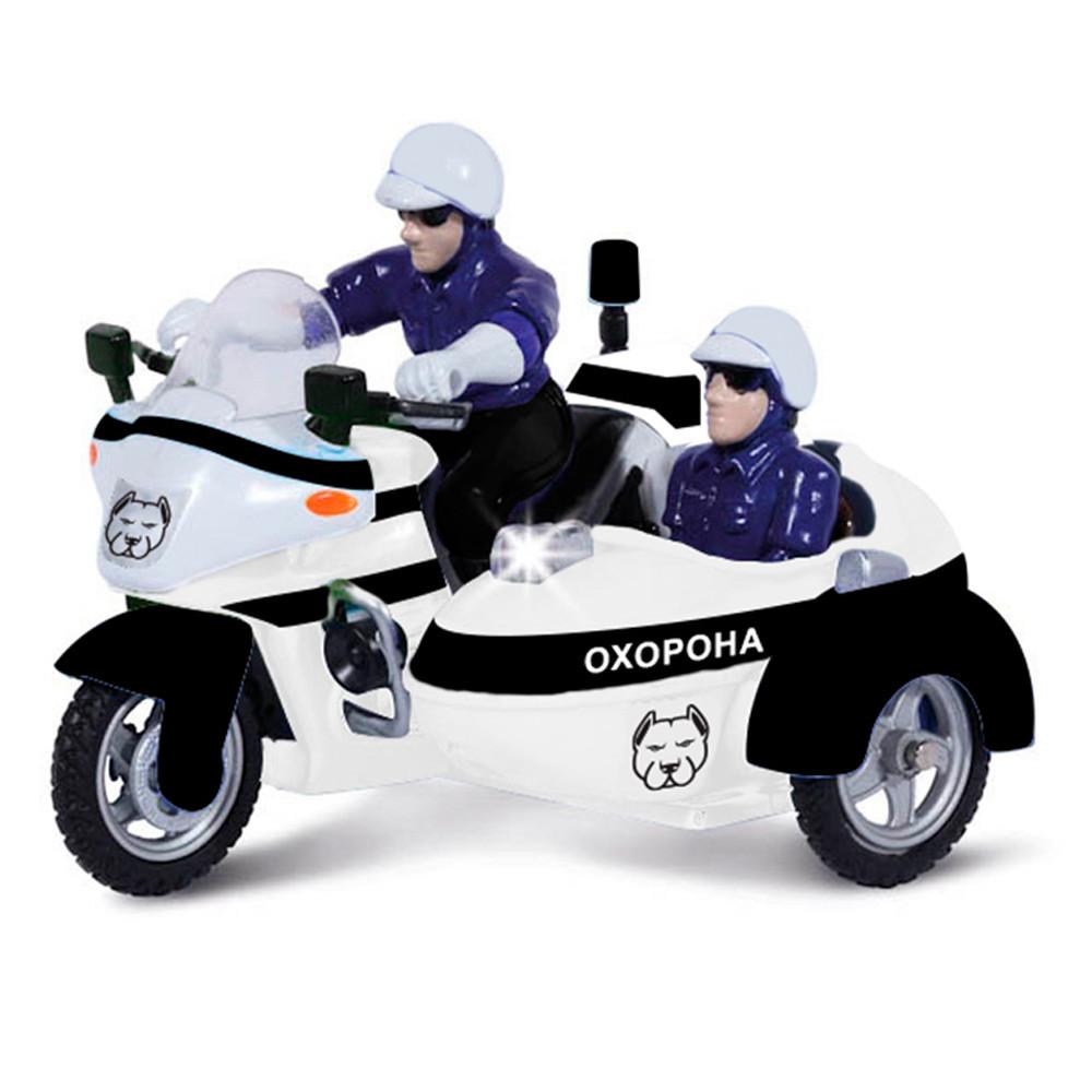 Автомодель Технопарк Мотоцикл охрана