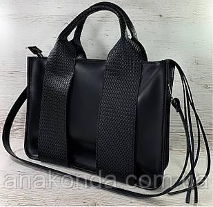 680-XL Натуральная кожа Сумка женская кожаная черная А4 женская сумка из натуральной кожи черная модная 2021