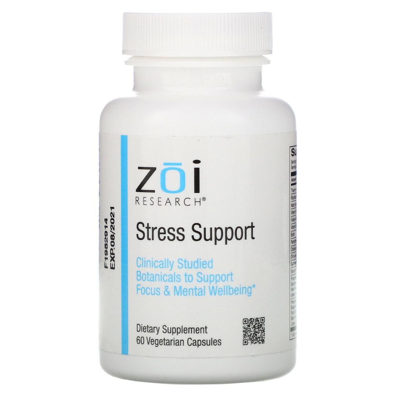 Антистресовий засіб, 60 рослинних капсул, ZOI Research