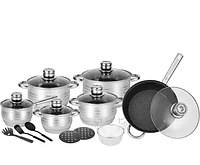 Набор посуды Rainberg RB-602 18 предметов