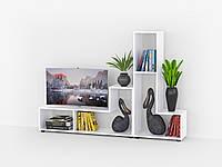 Комплект стеллажей для дома. Тумба под телевизор, полка для книг