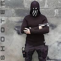 Свитер с капюшоном СТРЕЛОК BLACK
