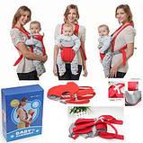 Рюкзак-переноска кенгуру для младенцев Beby Carrier, фото 2