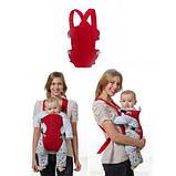 Рюкзак-переноска кенгуру для младенцев Beby Carrier, фото 3