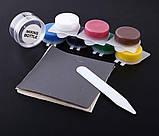 Комплект для ремонта кожи винила Leather Vinyl Repair Kit, фото 4