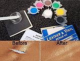 Комплект для ремонта кожи винила Leather Vinyl Repair Kit, фото 6